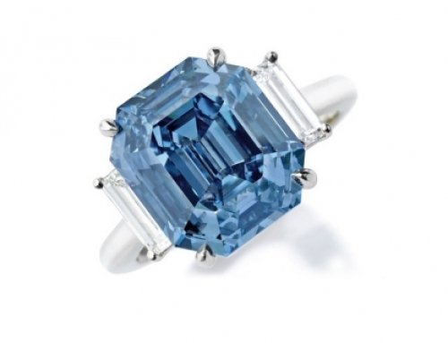 Blue Diamond Sells for $15M at Sotheby's New York