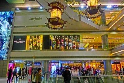 china luxury shopping