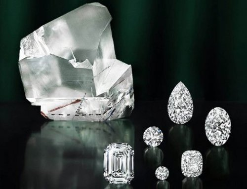Lesedi La Rona – First diamonds cut from it