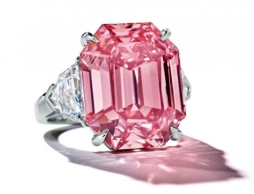Winston Pink Legacy – Christie's 19ct. Pink Legacy Fetches $50M