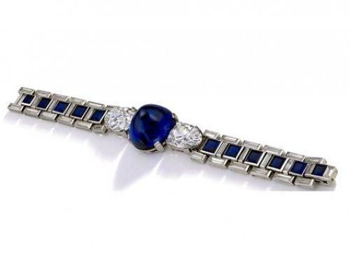 Art Deco Cartier bracelet masterpiece in Sotheby's sale in Geneva