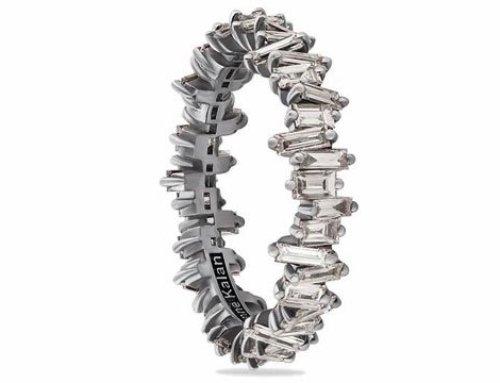 Suzanne Kalan turns baguette diamond into ultra trendy jewels