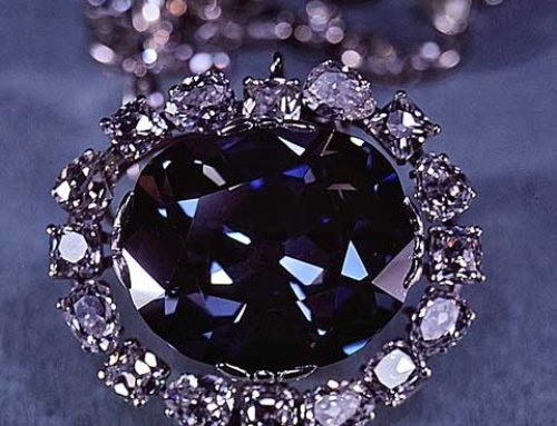 Famous Hope Diamond comes from the depths of the earth
