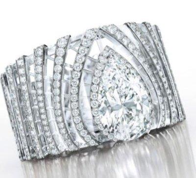 Sothebys Cartier Crystal Rock bracelet